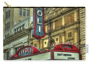 Jewel Of The South Tivoli Chattanooga Historic Theater Art Carry-all Pouch