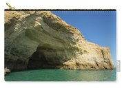 Jewel Toned Ocean Art - Colorful Sea Cave In Algarve Portugal Carry-all Pouch