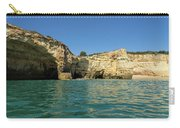 Jewel Toned Ocean Art - Gliding By Sea Caves And Secluded Beaches Carry-all Pouch