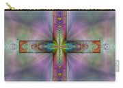Jeweled Cross Carry-all Pouch
