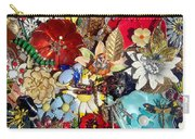 Jeweled Garden Carry-all Pouch
