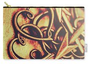Jewelry Love Background Carry-all Pouch