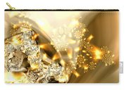 Jewels And Satin Carry-all Pouch