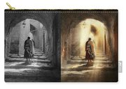 Jewish - Evening Prayers 1934 - Side By Side Carry-all Pouch