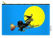 Jewish Flying Witch Carry-all Pouch