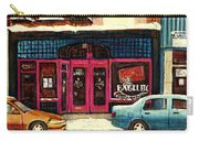 Jewish Montreal By Streetscene Artist Carole Spandau Carry-all Pouch