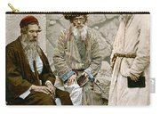Jews In Jerusalem, C1900 Carry-all Pouch