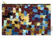 Jigsaw Abstract Carry-all Pouch