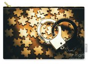 Jigsaw Of Misconduct Bribery And Entanglement Carry-all Pouch