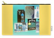 Jim Beam Signs On Display - Color Invert Carry-all Pouch