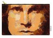 Jim Morrison - Digital Art Carry-all Pouch