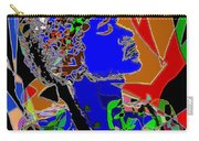 Jimi In Heaven Colorful Carry-all Pouch by Navo Art