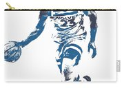 Jimmy Butler Minnesota Timberwolves Pixel Art 5 Carry-all Pouch
