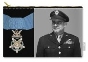 Jimmy Doolittle And The Medal Of Honor Carry-all Pouch by War Is Hell Store