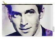 Jimmy Stewart, Vintage Actor Carry-all Pouch