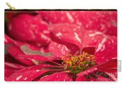 Jingle Bells 3 Poinsettia Carry-all Pouch