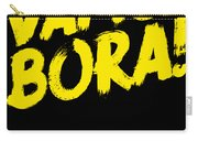 Jiu Jitsu Design Vamo Bora Yellow Light Martial Arts Carry-all Pouch