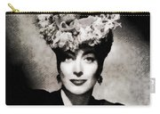 Joan Crawford, Hollywood Legend By John Springfield Carry-all Pouch