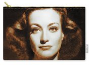Joan Crawford, Hollywood Legends Carry-all Pouch