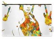 Joan Jett Colorful Paint Splatter Carry-all Pouch