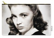 Joan Leslie, Vintage Actress Carry-all Pouch