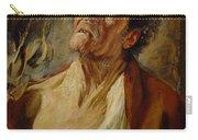 Job Carry-all Pouch by Jacob Jordaens
