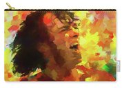 Joe Cocker Colorful Palette Knife Carry-all Pouch