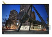 Joe Louis Fist Statue Jefferson And Woodward Ave. Detroit Michigan Carry-all Pouch
