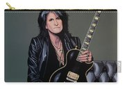 Joe Perry Of Aerosmith Painting Carry-all Pouch