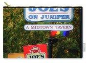 Joe's On Juniper Carry-all Pouch