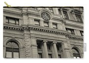 John Adams Courthouse Boston Ma Black And White Carry-all Pouch
