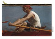 John Biglin In A Single Scull Carry-all Pouch