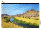 John Day River Panoramic View Carry-all Pouch