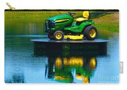 John Deere Mows The Water No 1 Carry-all Pouch