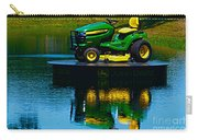 John Deere Mows The Water No 2 Carry-all Pouch