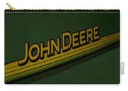 John Deere Signage Decal Carry-all Pouch