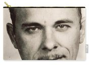 John Dillinger Mug Shot Sepia Carry-all Pouch