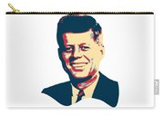 John F Kennedy Color Pop Art Carry-all Pouch