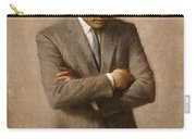 John F Kennedy Carry-all Pouch by War Is Hell Store