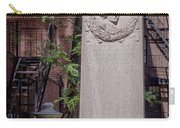 13- John Hancock Monument In Granary Burying Ground Eckfoto Boston Freedom Trail Carry-all Pouch