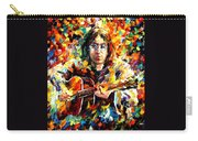 John Lennon Carry-all Pouch by Leonid Afremov