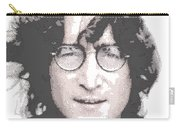 John Lennon - Parallel Hatching Carry-all Pouch