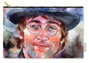 John Lennon Portrait Carry-all Pouch