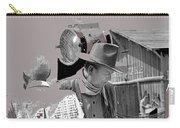 John Wayne And Director Howard Hawks  Alienated Rio Lobo Old Tucson Arizona 1970-2016 Carry-all Pouch