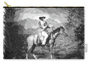 John Wayne At The Ready On Horseback Pa 01 Carry-all Pouch