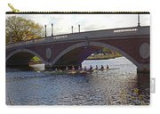 John Weeks Bridge Harvard Square Chales River Sunset Rowers Carry-all Pouch