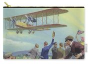 John William Alcock And Arthur Whitten Brown Who Flew Across The Atlantic Carry-all Pouch