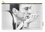 Johnny Cash God's Gonna Cut You Down Carry-all Pouch