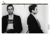 Johnny Cash Mug Shot Horizontal Carry-all Pouch