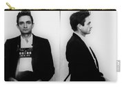 Johnny Cash Mug Shot Horizontal Carry-all Pouch